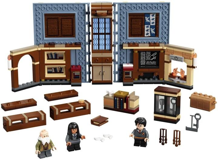 LEGO Harry Potter 76385 Kouzelné momenty z Bradavic: Hodina kouzelných formulí