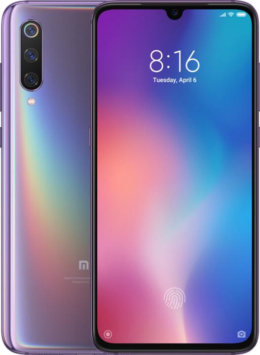 Xiaomi Mi 9, 6GB/64GB, Lavender Violet