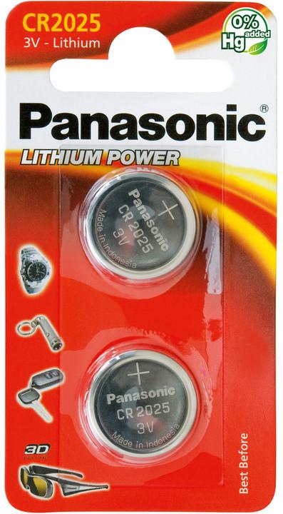 Panasonic baterie CR-2025 2BP Li