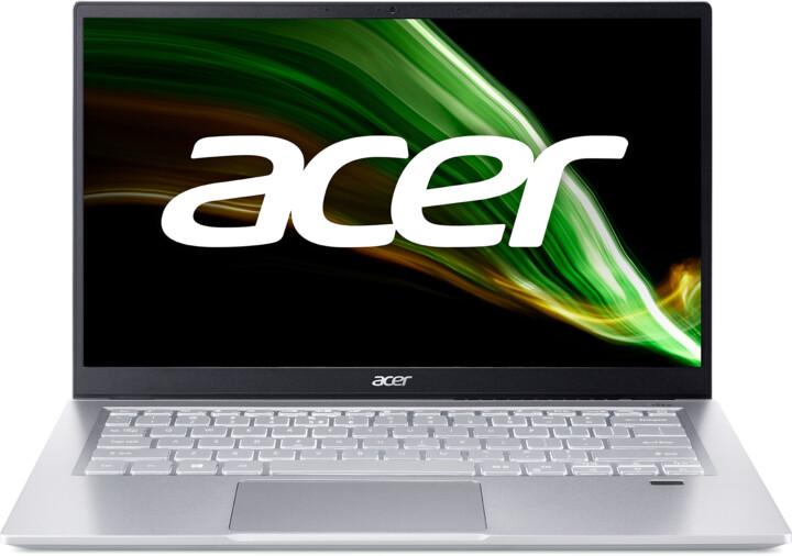 Acer Swift 3 (SF314-43), stříbrná