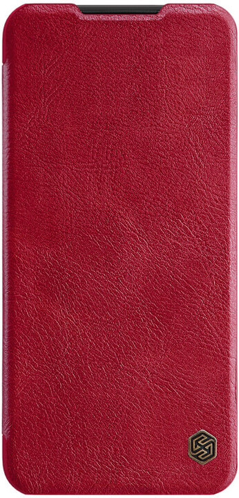 Nillkin Qin Book pouzdro pro Xiaomi Redmi Note 8T, červená