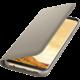 Samsung S8+, Flipové pouzdro LED View, zlatá