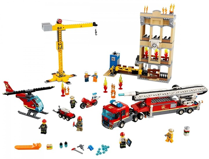 LEGO City Hasiči v centru města