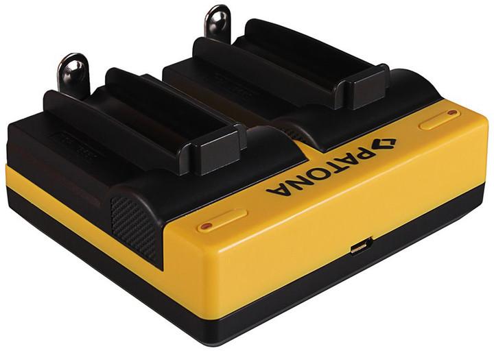 Patona nabíječka Dual pro 2x aku 18650 USB