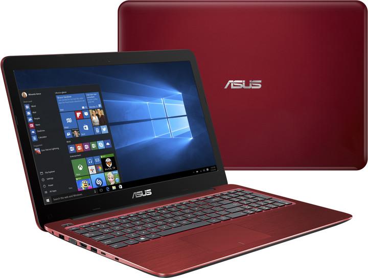 ASUS F556UB-DM063T, červená