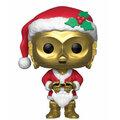 Figurka Funko POP! Bobble-Head Star Wars - C-3PO Holiday Santa