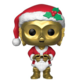 Funko POP! Bobble-Head Star Wars - C-3PO Holiday Santa