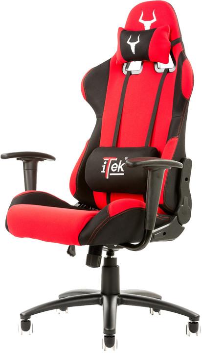 iTek TAURUS S1, černá/červená
