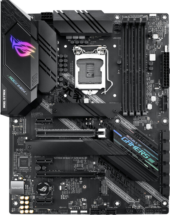 ASUS ROG STRIX B460-F GAMING - Intel B460