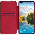 Nillkin Qin Book pouzdro pro Huawei P40, červená