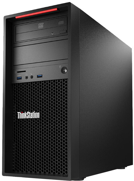 Lenovo ThinkStation P410 TWR, černá