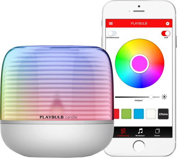 MiPow Playbulb™ Candle S chytrá LED svíčka s integrovanou baterií