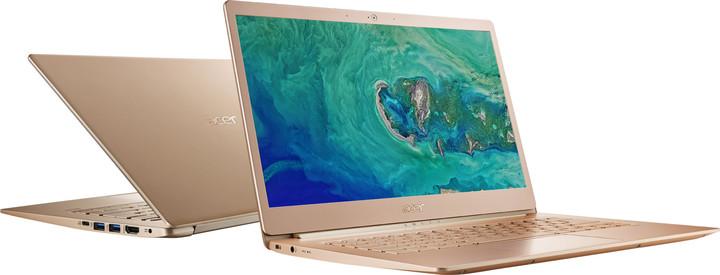 Acer Swift 5 celokovový (SF514-52T-81VF), zlatá