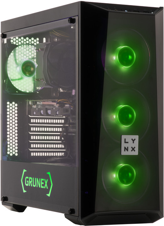 LYNX Grunex Gamer+ 2019, černá