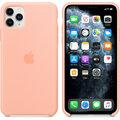 Apple silikonový kryt pro iPhone 11 Pro Max, oranžová