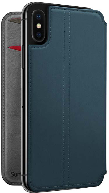 TwelveSouth SurfacePad for iPhone X - teal