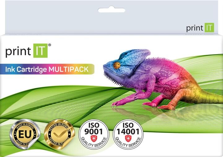 PRINT IT alternativní HP sada 950XL BK + 951XL