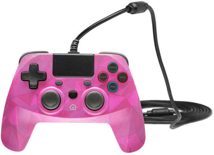 Snakebyte Game:Pad 4 S, bubblegum camo (PS4, PS3)