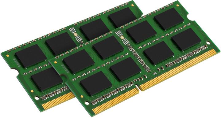 Kingston Value 16GB (2x8GB) DDR3 1333 CL9 SO-DIMM