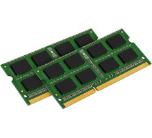 Kingston Value 16GB (2x8GB) DDR3 1333 CL9 SO-DIMM CL 9 - KVR13S9K2/16