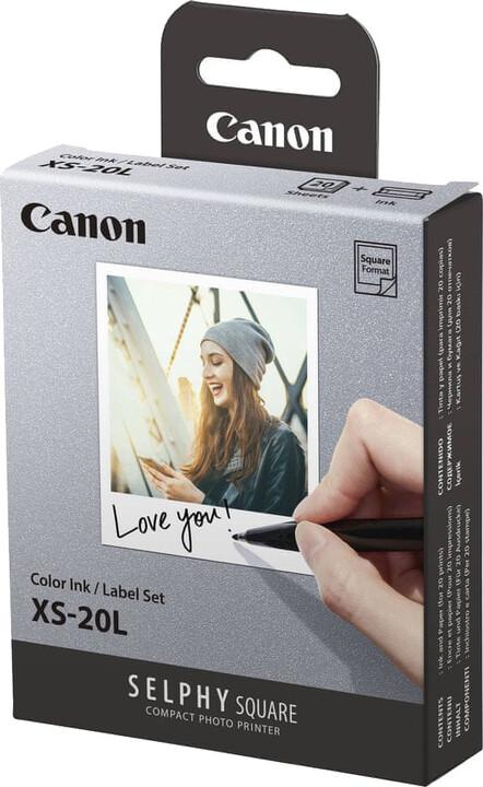 Canon XS-20L papír + ink (20ks/68 x 68mm)