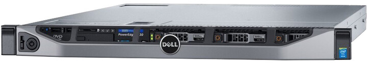 Dell PowerEdge R630, E5-2620v4/16GB/1x120GB SSD/2x750W/Rack 1U