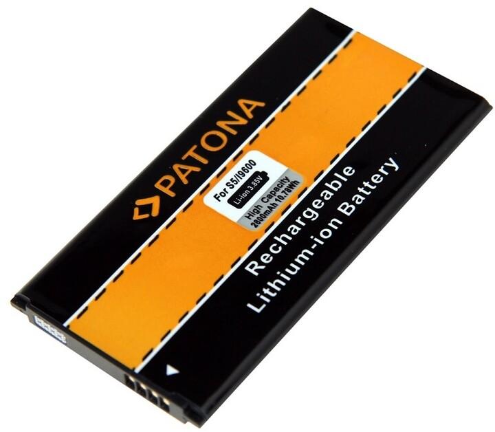 Patona baterie pro Samsung S5 GT- I9600 2800mAh 3,7V Li-Ion