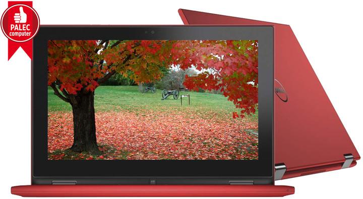 Dell Inspiron 11z (3147) Touch, červená