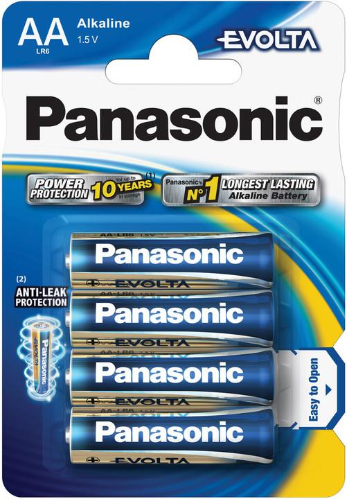 Panasonic baterie LR6 4BP AA Evolta alk