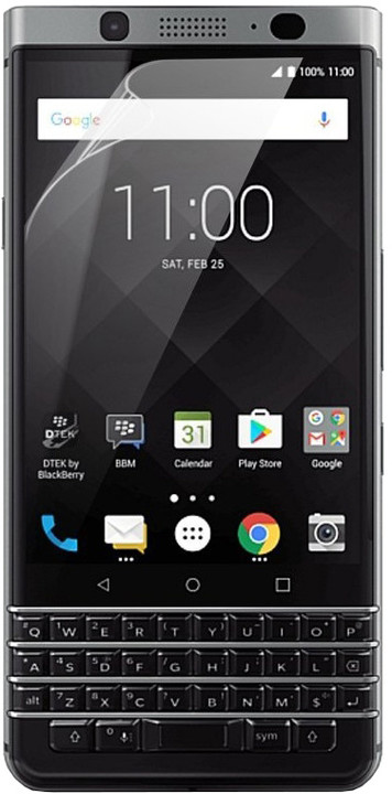 BlackBerry ochranná fólie pro BlackBerry Keyone (2 ks), transparentní