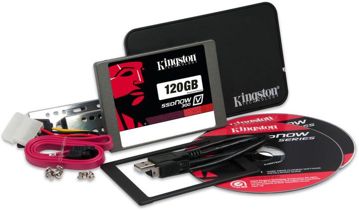 Kingston SSDNow V300 - 120GB, Desktop/Notebook upgrade kit