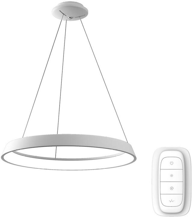IMMAX NEO LIMITADO Smart závěsné svítidlo 60cm 39W, bílá