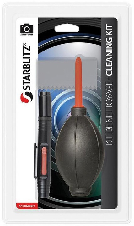 Starblitzčistící pero na optické čočky a vzduchový čistící balónek