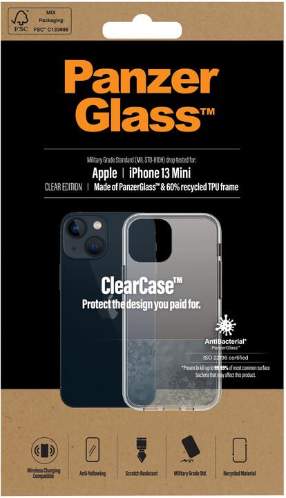 PanzerGlass ochranný kryt ClearCase pro Apple iPhone 13 mini