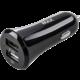 MAX MCC1200B autonabíječka, 2 x USB výstupem, 1 + 2.4 A, černá