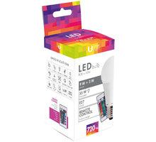 Forever LED žárovka A60 E27 3W a 9W s dálkovým ovládáním, bílá 45364