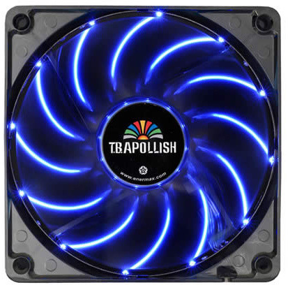 Enermax T.B.Apollish UCTA12N-BL, 120mm LED, modrá