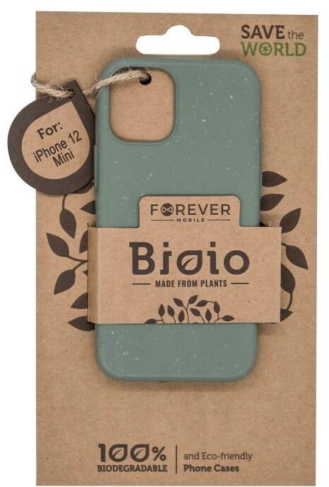"""FOREVER zadní kryt Bioio pro iPhone 12 mini (5.4""""), zelená"""