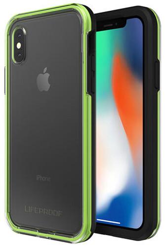 LifeProof SLAM ochranné pouzdro pro iPhone X průhledné - černo zelené