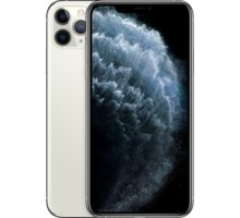 Apple iPhone 11 Pro Max, 512GB, Silver  + EPICO CHARGING BASE - bílá + 18W charger v hodnotě 1 590 Kč + Zadní kryt Forever Bioio pro iPhone 11 Pro Max červený v hodnotě 299 Kč + Apple TV+ na rok zdarma + Elektronické předplatné čtiva v hodnotě 4 800 Kč na půl roku zdarma