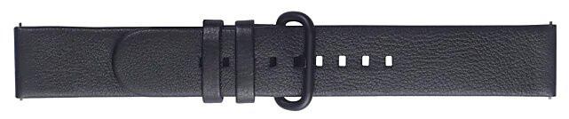 Samsung výměnný pásek pro Watch Active 2, kožený, černá