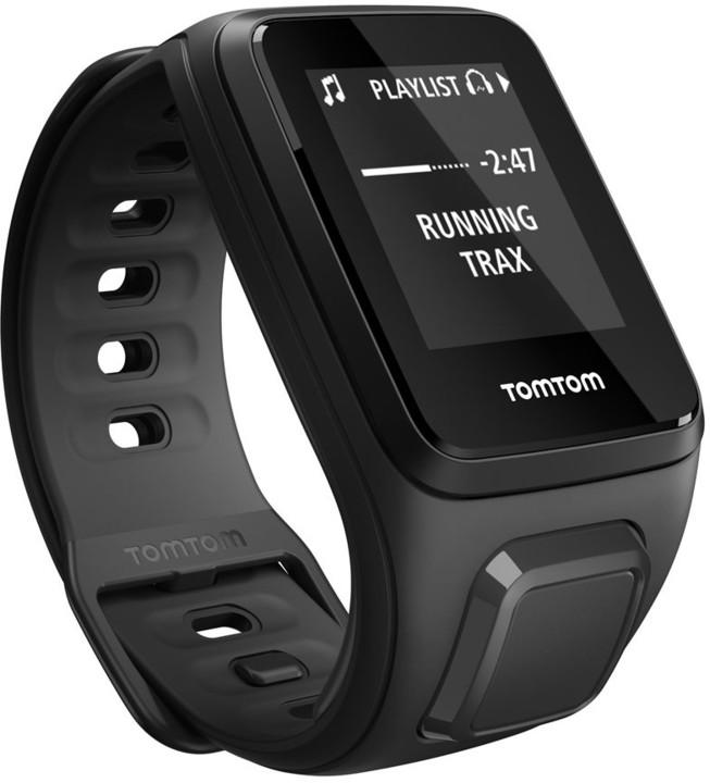 TOMTOM Spark Fitness (S), černá