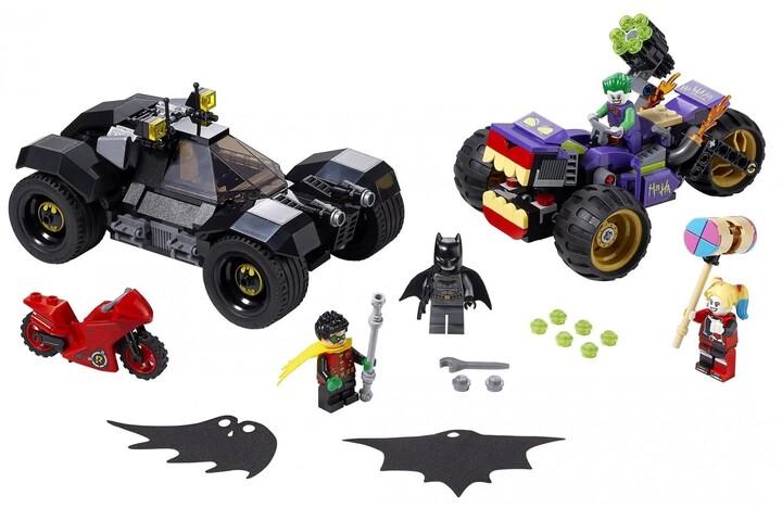LEGO DC Comics Super Heroes 76159 Pronásledování Jokera na tříkolce