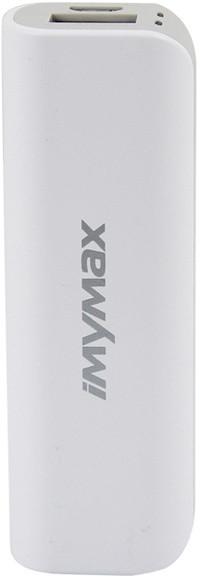 iMyMax Mini Power Bank 2.600mAh, Grey