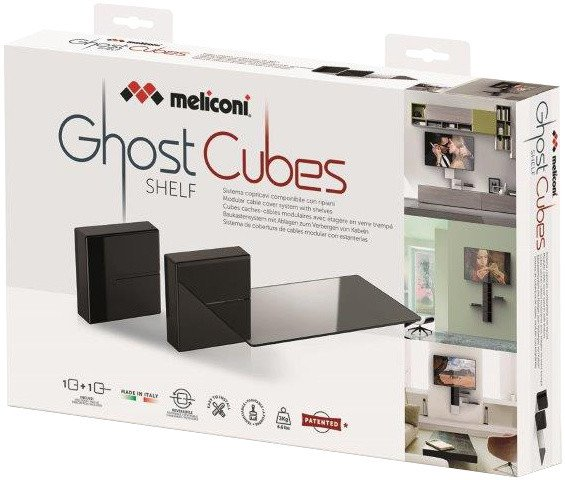 Meliconi GHOST CUBE cover, černá