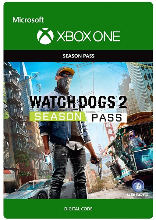 Watch Dogs 2 - Season Pass (Xbox ONE) - elektronicky