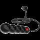 CONNECT IT prodlužovací kabel 230 V, 4 zásuvky, 3 m, s vypínačem (černý)
