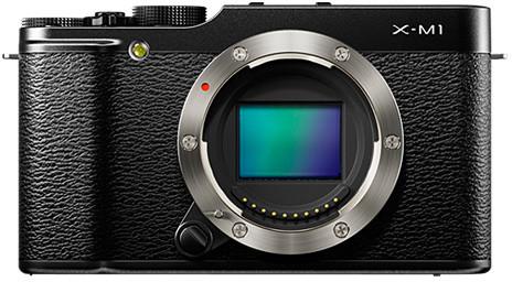 Fujifilm FinePix X-M1, tělo, černá