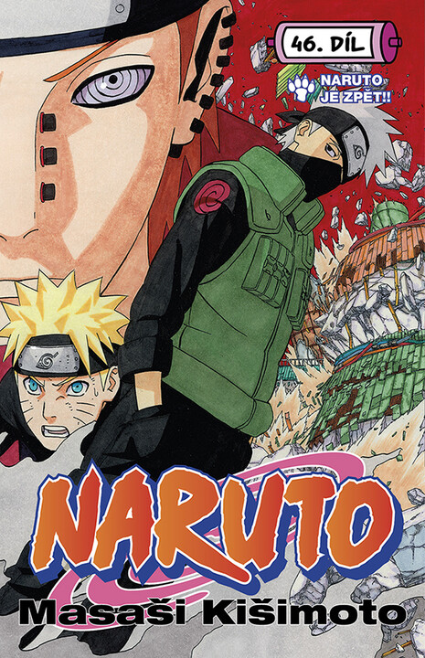 Komiks Naruto: Naruto je zpět!!, 46.díl, manga