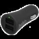 Belkin USB nabíječka do auta 2,4A/5V, 2-portová - černá